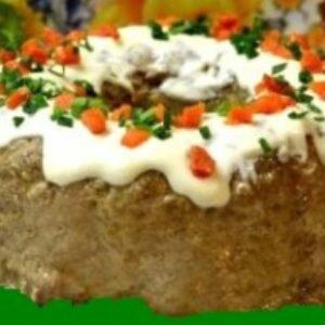 Пасхальное мясное блюдо