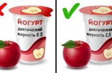 Этикетки на продуктах питания