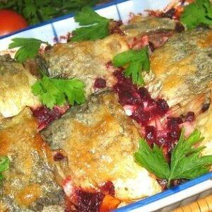 Запеченная рыба рецепт (по — еврейски)