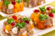 Рецепт заливного мяса к празднику
