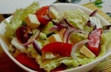 Пополните свой организм витаминами! Простой салат из пекинской капусты