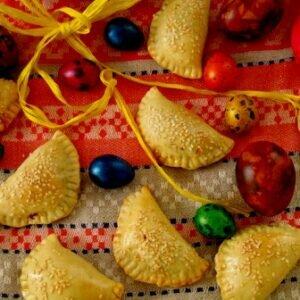 Готовимся к пасхе, используя новые рецепты! Пасхальные пирожки со шпинатом