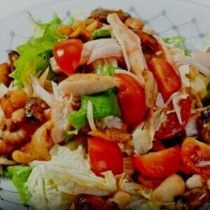 Рецепты разных салатов