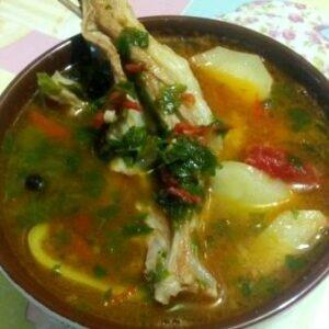 Суп шурпа — это божественный суп узбекской кухни.