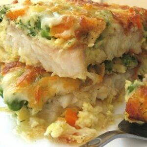 Запеченная рыба в омлете — вы пробовали так готовить?