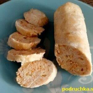 Колбаски из курицы рецепт