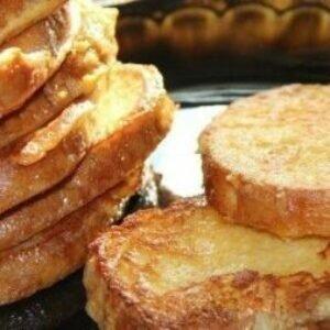 Гренки на завтрак на сковороде — чудненько