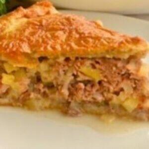 Вкуснейший рецепт мясного пирога — легкого в приготовлении