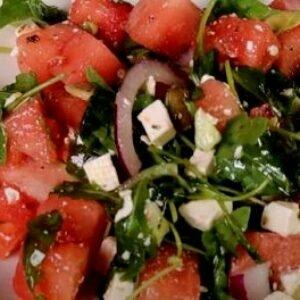 Салат с арбузом — в котором сочетаются разные вкусы
