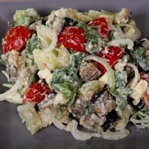Салат из баклажан самый вкусный