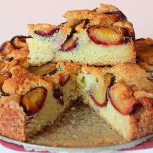 Сливовый пирог с фото — пирог СУПЕР — американских хозяек