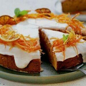 Рецепт пасхального пирога с апельсином — восхитительно красивым апельсином