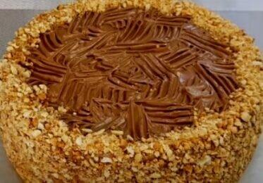 Вкуснее не бывает торт без муки со сникерским вкусом