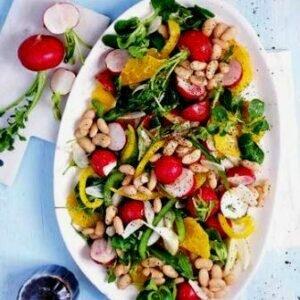 Рецепт салата из редиса вкусный и необычный